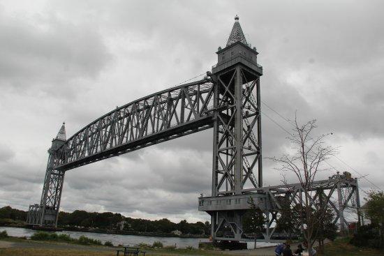 Sagamore, MA: Train Bridge for the Cape Flyer to Hyannis