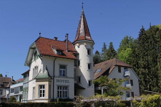 Hotel Villa Rosengarten: Eine wunderschöne Außenansicht.