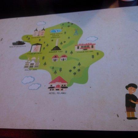 Peta Wisata Kota Malang Picture Of Resto Ngalam Jakarta Tripadvisor