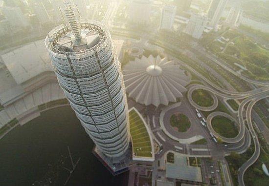 Zhengzhou, Çin: Exterior – Aerial View