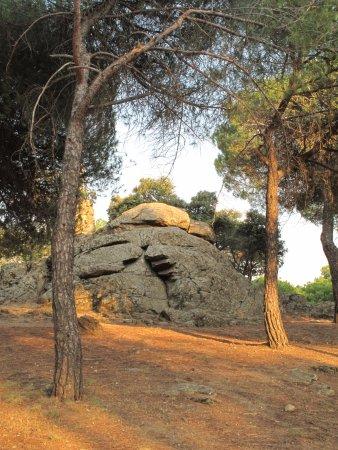 Colmenar Viejo, España: Conjunto de piedras