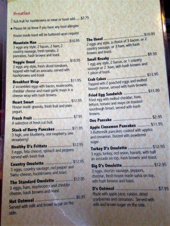 Big chef menu