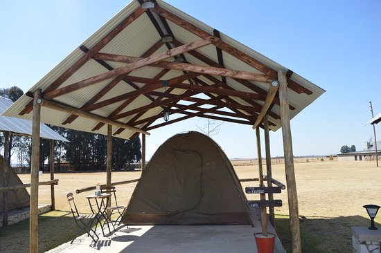 Chrissiesmeer, Güney Afrika: tented accommodation for weddings