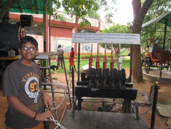 Railway Museum Mysore: signal system