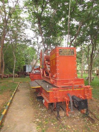 Railway Museum Mysore: Vintage Rail loco at the museum