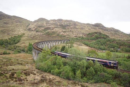 Glenfinnan, UK: Leider nicht der Hogwarts Express