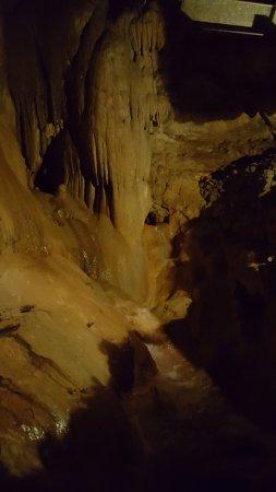 Padirac, Francia: stalactite