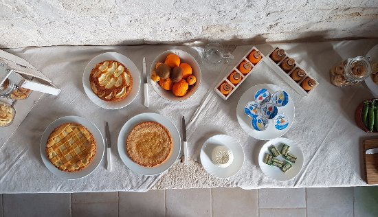 B&B La Masseriola Relais: buffet colazioni