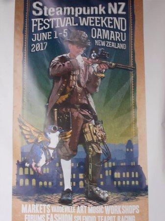 Steampunk HQ: Locandina del convegno giugno 2017