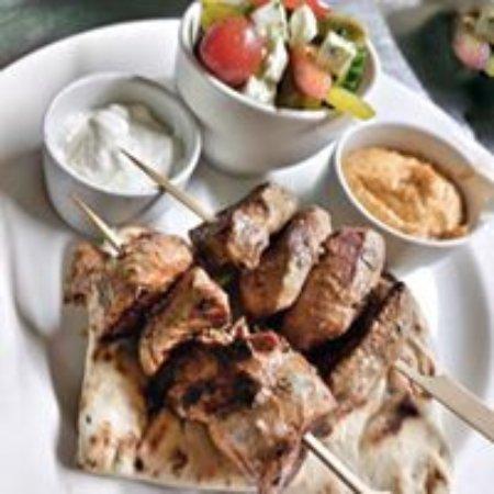 North Thoresby, UK: Lamb Kebabs
