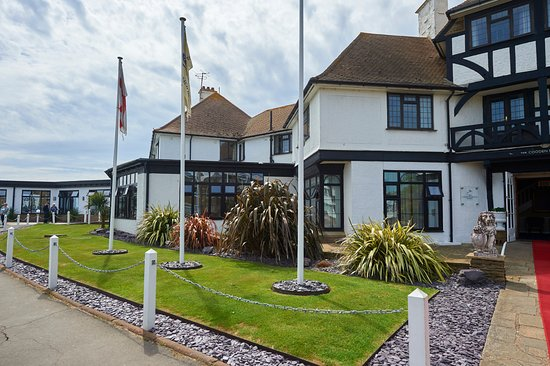 Bexhill-on-Sea, UK: Front Garden