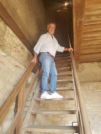 Cluny, France: Altra rampa