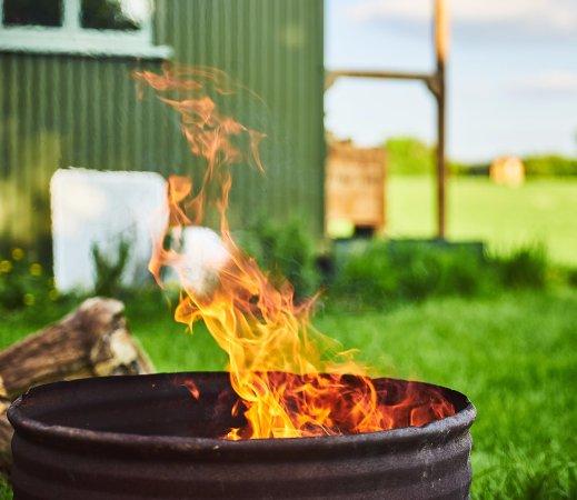 Winford, UK: Campfire