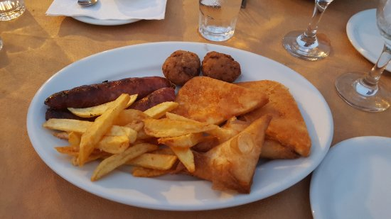Restaurant Amalia: Antipasto tipico