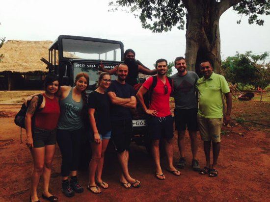 Matara, Sri Lanka: Together with Chandana at The Kingdom.