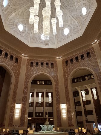 Al Bustan Palace, A Ritz-Carlton Hotel: Tasty food, nice place to relax