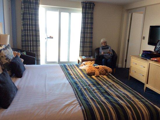 Sandbanks Hotel Harbour Family Room