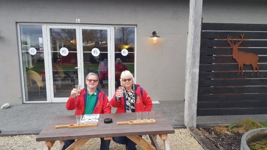 Lower Hutt, New Zealand: Martinborough Brewery on our Taste Buds Tour: Wairarapa