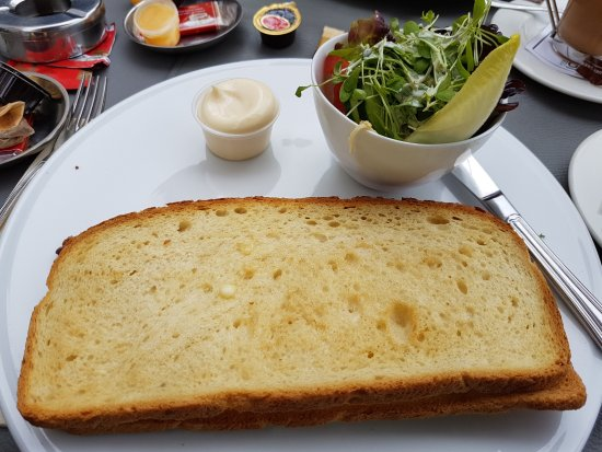 Vivaldi Restaurant: Toasted Cheese sandwich, it was amazing