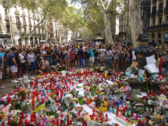 EuroPark Hotel: Las Ramblas 2 days after attacks