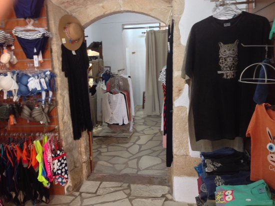 Альмирида, Греция: Men T-shirts & Our swimwear also made in Greece!