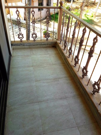 Balcony attached to the Room