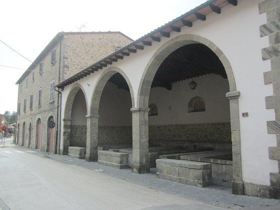 Castel del Piano, Italia: Lavatoi