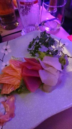 Dreux, Frankrijk: Sashimi