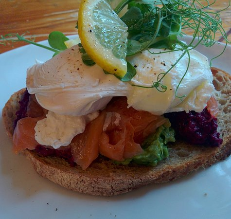 Frome, UK: House Eggs (on lunch/brunch menu)