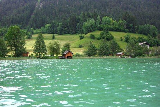 Weissensee, Østerrike: colore incredibile