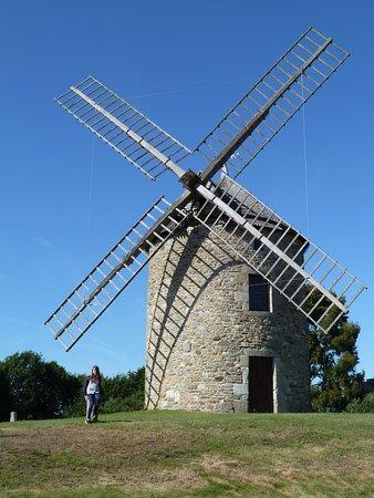 Lancieux, Prancis: superbe Moulin en état de fonctionnement