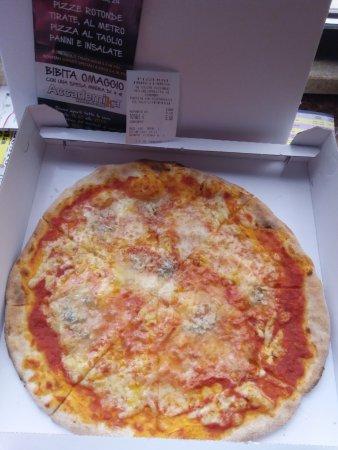 Province of Ferrara, Italia: La pizza ai quattro formaggi
