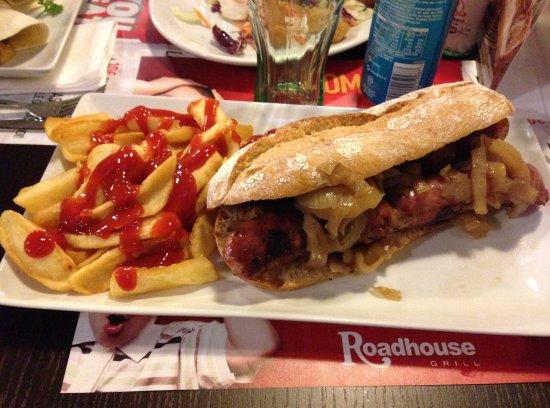 Roadhouse Grill: Mr Jack con patatine