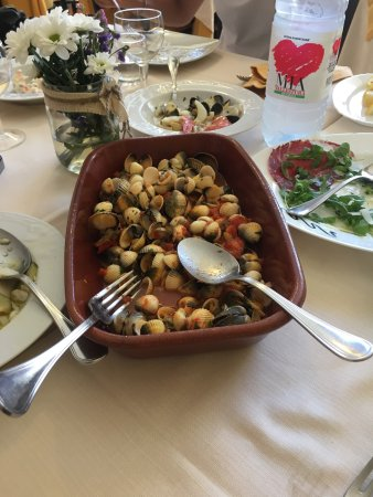 Marrubiu, Italy: Zuppetta di arselle