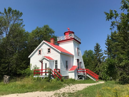 Gore Bay, Kanada: Janet Head Lighthouse