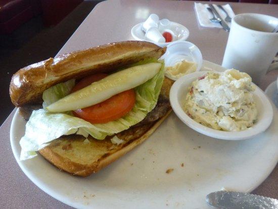 Milpitas, كاليفورنيا: ステーキサンドイッチ(自作)