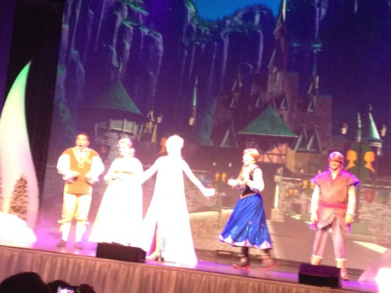 Disney's Hollywood Studios: Show Frozen