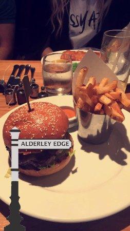 Alderley Bar & Grill: My meal