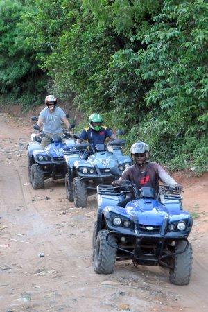 Diani beach quad tour