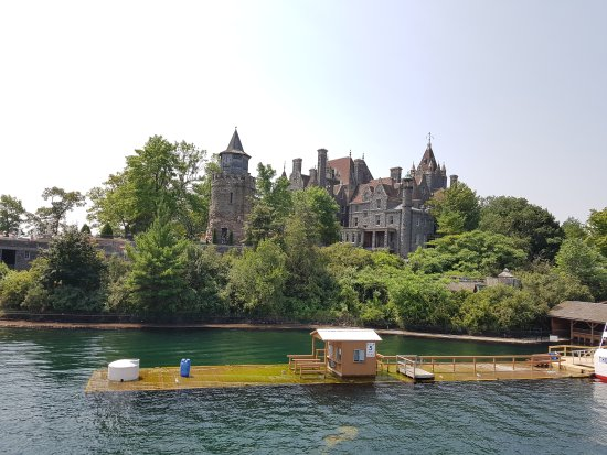 Boldt Castle and Yacht House: Luglio 2017