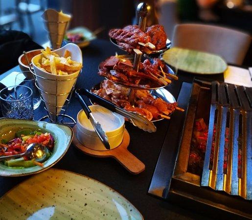 Barbecue Restaurant Rotterdam.Bbq Op Het Terras Picture Of Ortam Bbq Rotterdam Tripadvisor