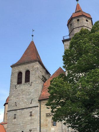 Feuchtwangen, Alemania: Chiesa della collegiata