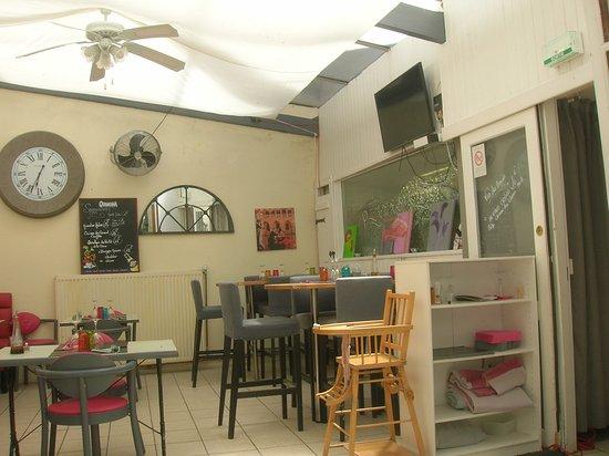 Pizzeria du Chateau: La seconde salle du restaurant