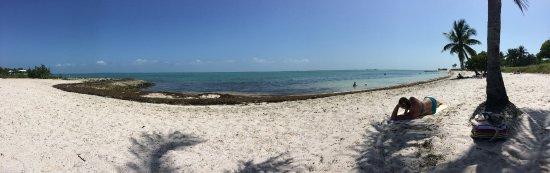 Sombrero Beach: Landscape