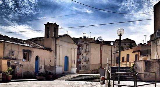 Licata, Italie : Antico acquartieramento degli  spagnoli