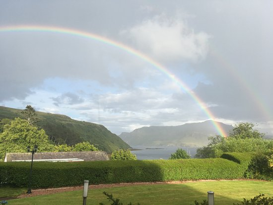 Dunborrodale B&B: Such a beautiful view we have!