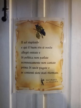 Ferrere, Италия: BENVENUTO