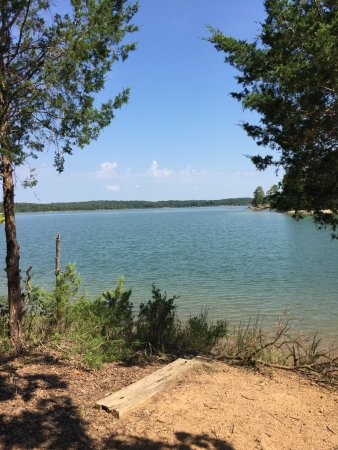 Calhoun Falls State Park: lake view from picnic area