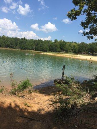 Calhoun Falls State Park: swim area