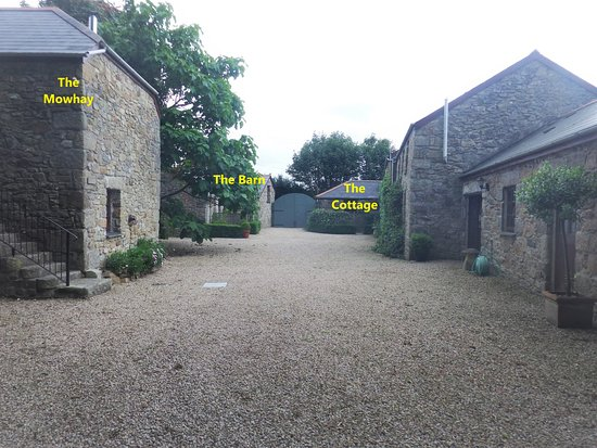 Carnhell Green, UK: Cottage locations